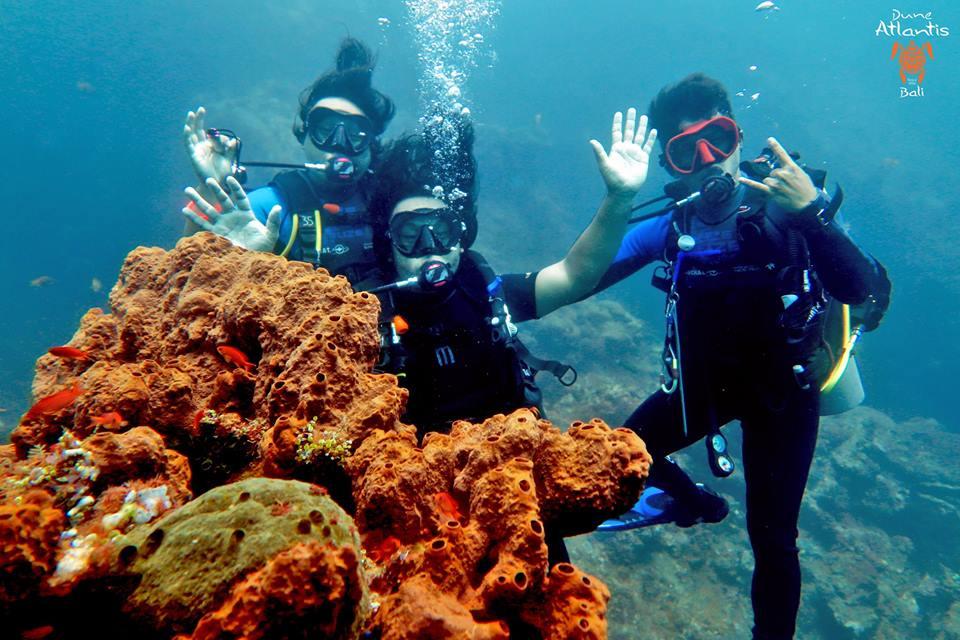Connaissez-vous ces trois spots de plongée Bali?