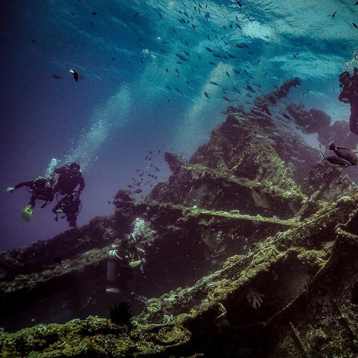 La Bali plongée épave la plus connue : l'USAT Liberty